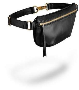 Ames Tovern Leather Hip Bag Black