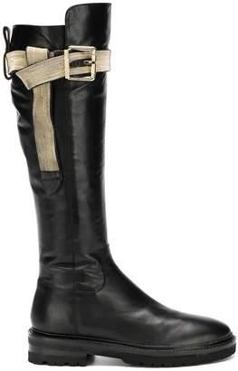 Steffen Schraut buckle detail boots