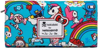 Ju-Ju-Be x tokidoki for Hello Sanrio Rainbow Dreams Be Rich Trifold Clutch Wallet