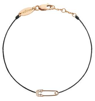 Redline Ange Black Bracelet - Rose Gold