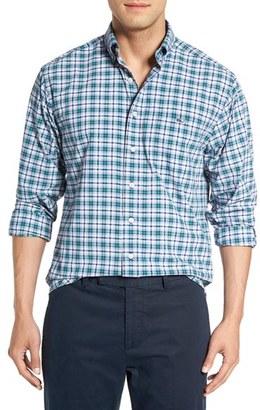Men's Vineyard Vines 'Tucker - Lacker' Slim Fit Plaid Sport Shirt $115 thestylecure.com