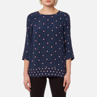 Joules Women's Leah Woven Printed Top
