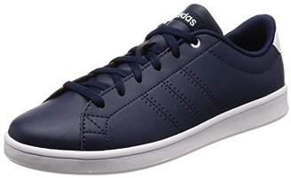 the best attitude d8d5e ba1c5 adidas Women s Advantage Clean QT Trainers, Blue Collegiate Navy Footwear  White, ...