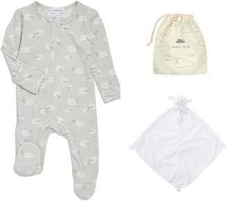 Angel Dear Sheep Footie & Blankie Set
