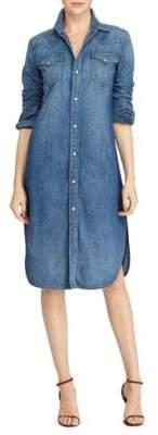 Polo Ralph Lauren Faded Cotton Shirtdress