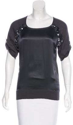 Magaschoni Silk & Cashmere-Blend Top