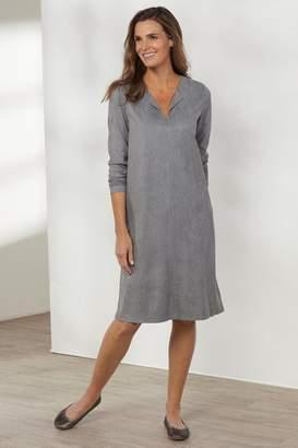 Soft Surroundings Penelope Faux Suede Dress