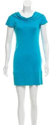 Issa Silk Short Sleeve Mini Dress
