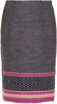 Bottega Veneta Knitted Pencil Skirt