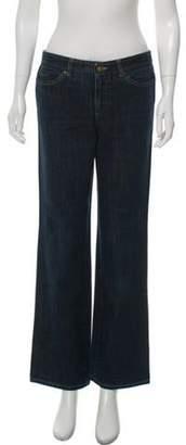 Alexander McQueen Mid-Rise Wide-Leg Jeans blue Mid-Rise Wide-Leg Jeans