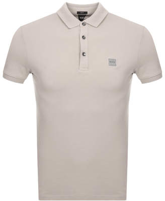 BEIGE Boss Casual BOSS Casual Passenger Polo T Shirt