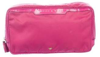Anya Hindmarch Nylon Cosmetic Case