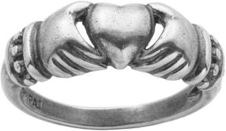 FINE JEWELRY Sterling Silver Claddagh Ring