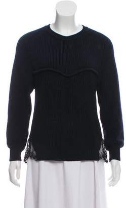 Isabel Marant Rib Knit Scoop Neck Sweater
