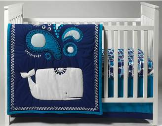 Jonathan Adler Party Whale 4-pc. Crib Bedding Set