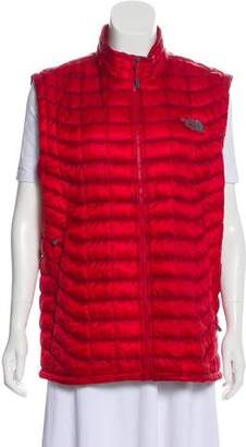 The North Face Quilted Zip Vest