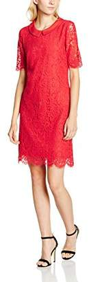 Yumi Women's Floral Lace Shift Evening Floral 3/4 Sleeve Dress