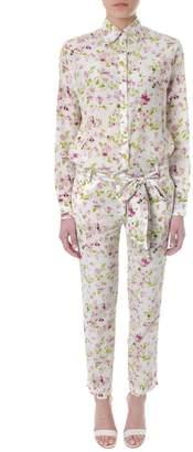 Faith Connexion Multicolor Floral Print Jumpsuit