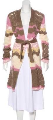 Missoni Elongated Knit Cardigan