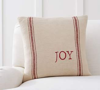 Pottery Barn Printed Grainsack Pillow Cover