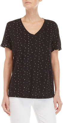 philosophy Star V-Neck Tee