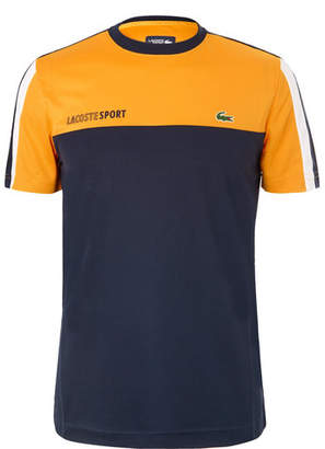Lacoste Tennis Colour-Block Piqué Tennis T-Shirt