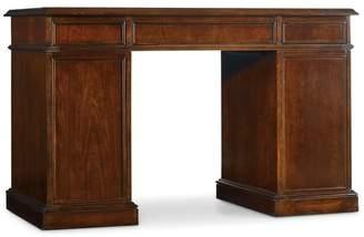 Hooker Furniture Cherry Knee-Hole Desk-Bow Front