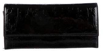 Christian Dior Diorissimo Patent Leather Wallet