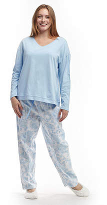 La Cera Knitted Flannel PJs
