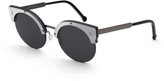 RetroSuperFuture Super By Era Semi-Rimless Cat-Eye Sunglasses