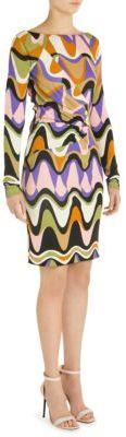 Emilio Pucci Silk Jersey Dress $1,420 thestylecure.com