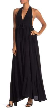 Fanco Halter Maxi Dress