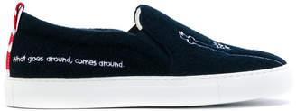 Joshua Sanders NY slip-on sneakers