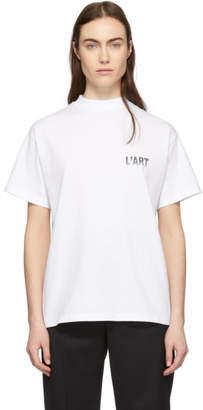 KAR / LArt de LAutomobile White Gull Wings T-Shirt