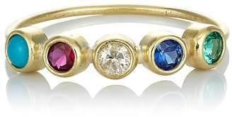 Jennifer Meyer Women's 5-Gemstone Bezel Ring