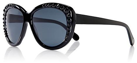 Tory Burch Crystal Cat-Eye Sunglasses