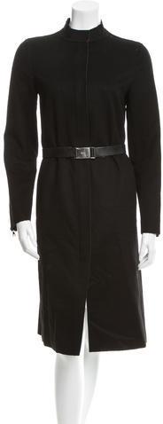 pradaPrada Belted Long Coat