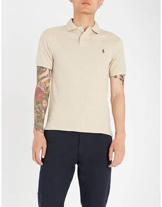 Polo Ralph Lauren Slim-fit cotton-piqué polo shirt