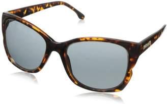 BCBGMAXAZRIA Women's B844 Rectangular Sunglasses