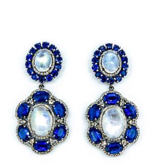 Arthur Marder Fine Jewelry 3.00 Ct. Tw. Diamond & Gemstone Earrings