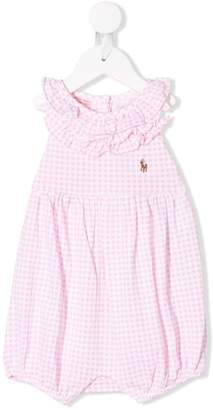 Ralph Lauren Kids ruffled romper