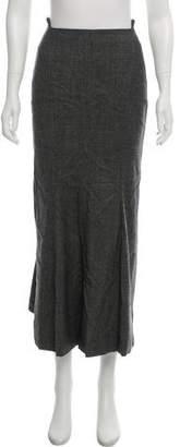 Calvin Klein Collection Midi Wool Skirt w/ Tags