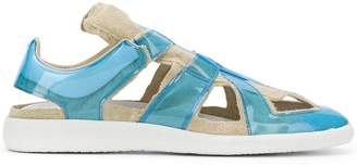 Maison Margiela panelled cut-out sandals