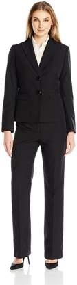 Le Suit LeSuit Women's 2 Button Pant Suit