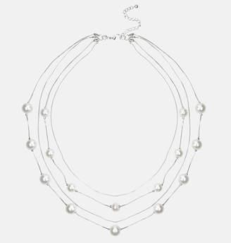 Avenue Silver Pearl Necklace