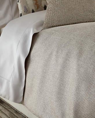 Fino Lino Linen & Lace Queen Soho Coverlet