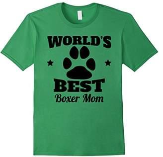 World's Best Boxer Mom Dog Owner T-Shirt