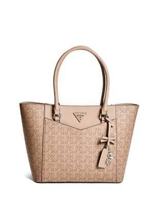 Factory GUESS Women's Desire Logo-Embossed Carryall