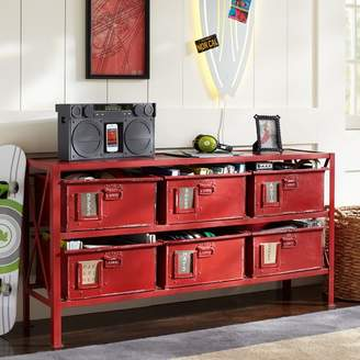 Pottery Barn Teen Rockwell 6-Drawer Bookcase
