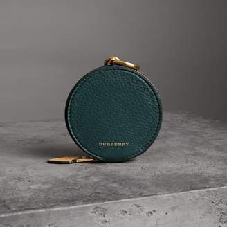 Burberry Small Round Leather Coin Case